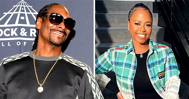 Snoop Dogg's Wife Shante Looks Fit in Black Tights and Hoodie in a New Video
