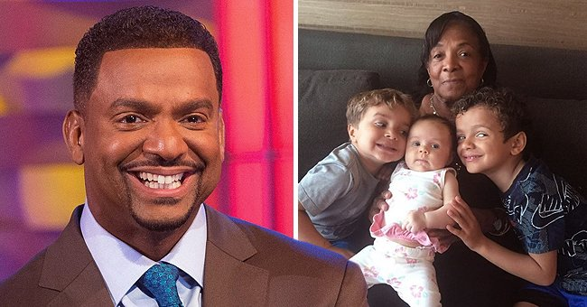 Alfonso Ribeiro Shares a Rare Photo of His Mom & 3 Kids Showing Their Strong Resemblance