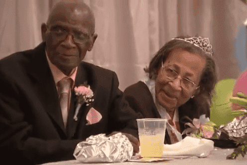 DW Williams and his wife at their birthday celebration and wedding anniversary | Photo: Youtube / Breaking News