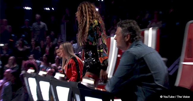 Singer with unbelievably powerful voice made all 4 judges turn their seats