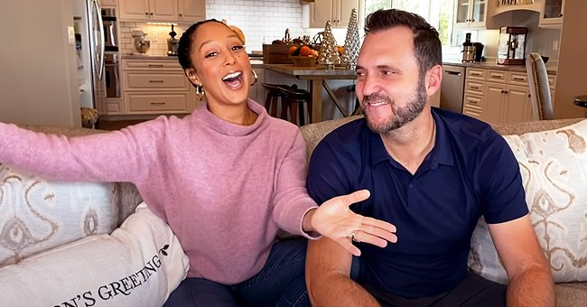 Tamera Mowry & Husband Adam Housley Share Their Family Christmas Traditions in This New Video