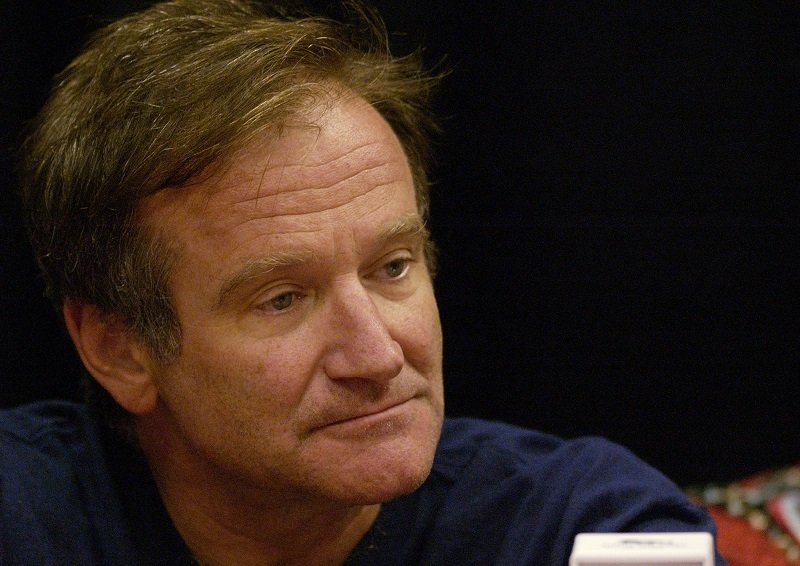 Robin Williams at MGM Grand Hotel in Las Vegas, Nevada, circa September 2002 | Photo: Getty Images