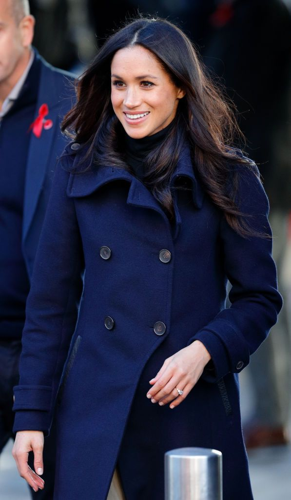 Meghan Markle at the Terrence Higgins Trust World AIDS Day charity fair at Nottingham Contemporary on December 1, 2017.   Photo: Getty Images