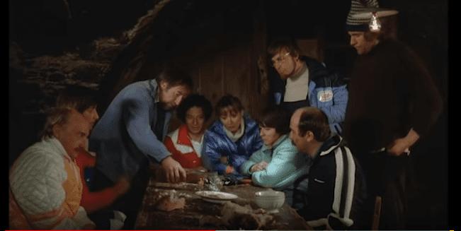 "Les Bronzés Font du Ski - ""shallot liqueur"" scene | YouTube / Alistair Dabbs"