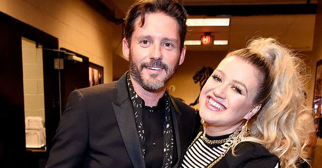 Brandon Blackstock and host Kelly Clarkson atthe Billboard Music Awards held at MGM Grand Garden Arena on May 20, 2018, in Las Vegas, Nevada   Photo:Kevin Mazur/BBMA18/WireImage/Getty Images