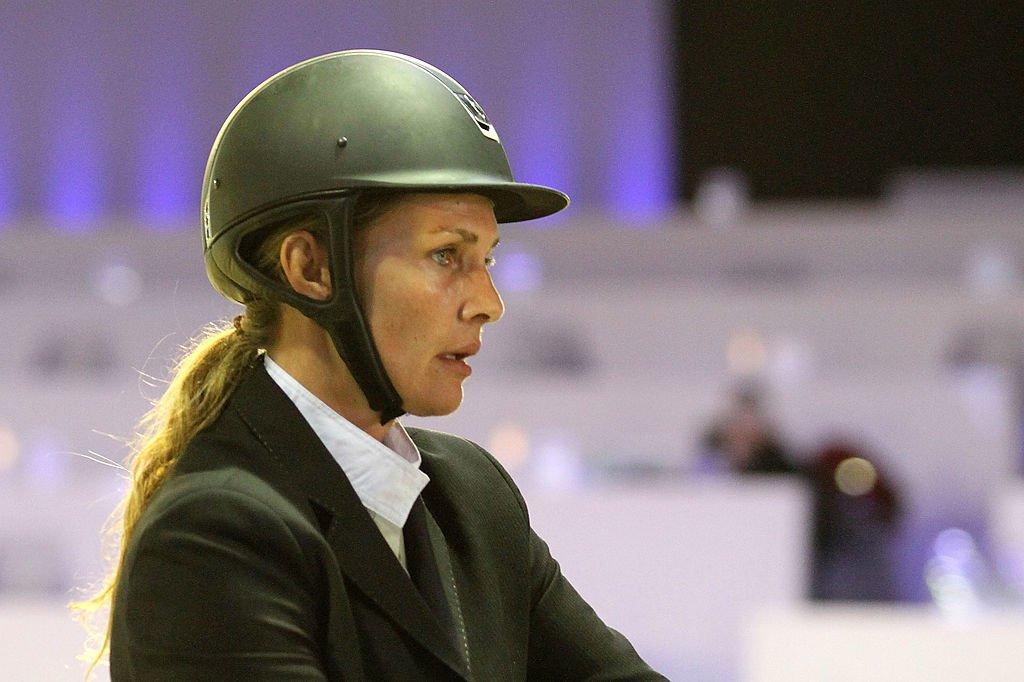 Vanessa Broussouloux durant la compétition internationale Gucci Masters en 2011 à Villepinte, en France. | Getty Images