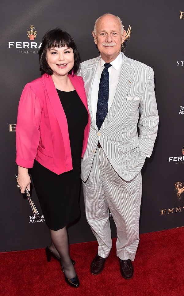 Delta Burke and Gerald McRaney on August 21, 2017 in Beverly Hills, California | Source: Getty Images