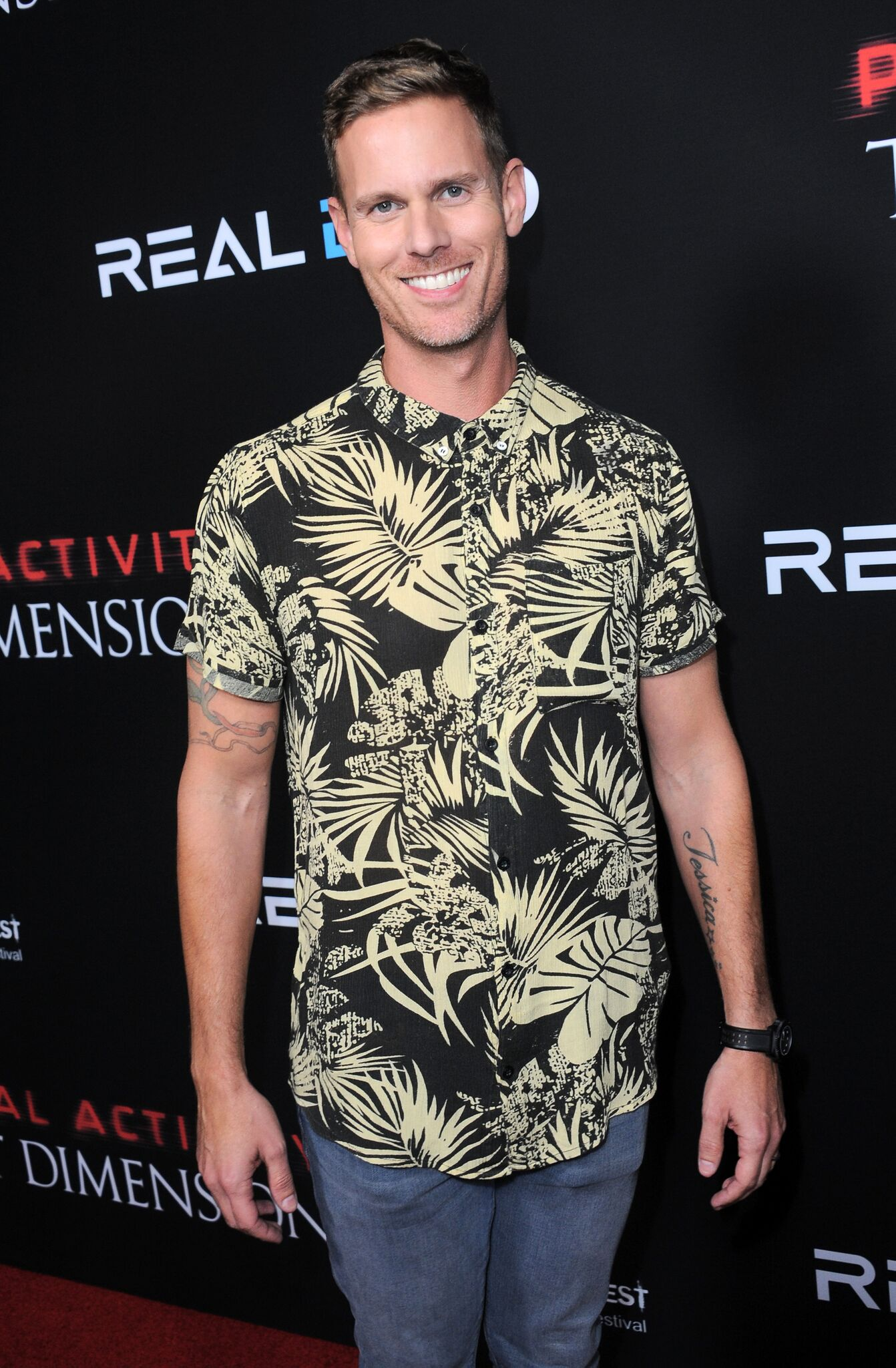 "Christopher Landon arrives for the Screamfest Closing Night - Screening Of Paramount Pictures' ""Paranormal Activity: The Ghost Dimension""  