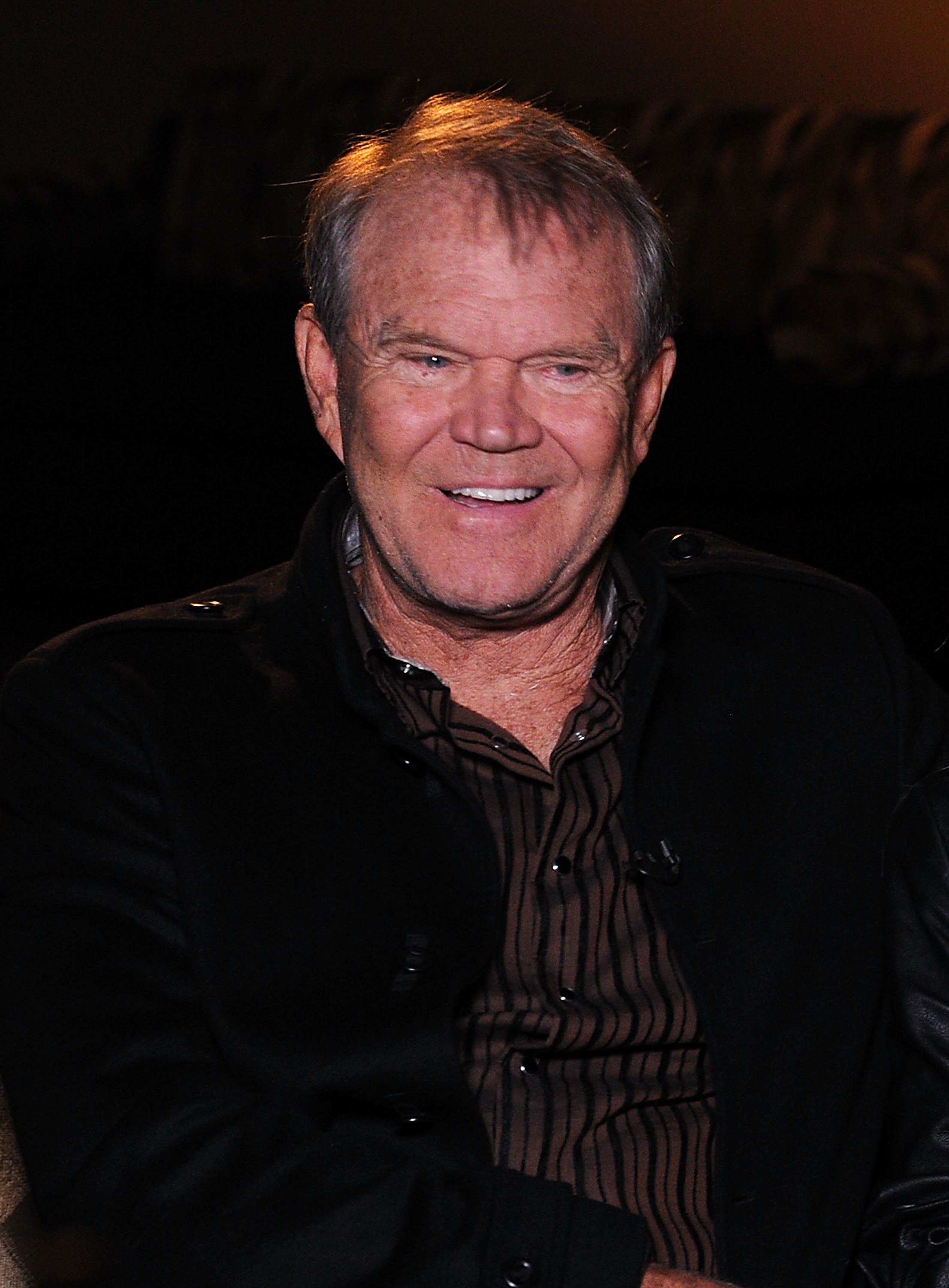 Glen Campbell at the Bridgestone Arena on Sep. 19, 2011 in Nashville, Tennessee. |Photo: Getty Images