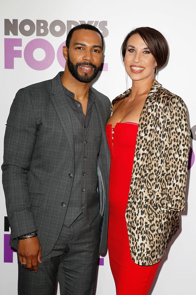 Omari Hardwick and Jae Hardwick attend 'Nobody's Fool' New York Premiere at AMC Lincoln Square Theater on October 28, 2018 in New York City | Photo: Getty Images