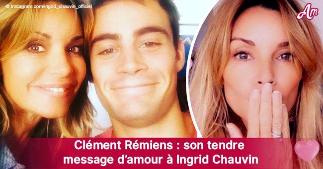 Clément Rémiens a adressé de manière surprenante un message d'amour à Ingrid Chauvin