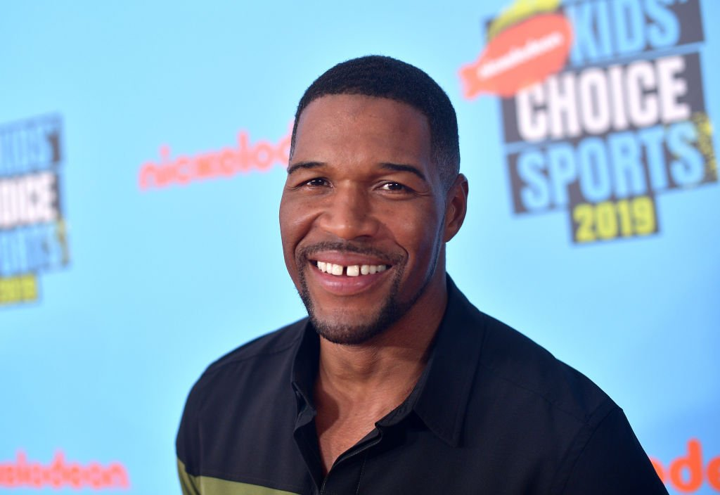 Michael Strahan attends Nickelodeon Kids' Choice Sports 2019 at Barker Hangar | Photo: Getty Images