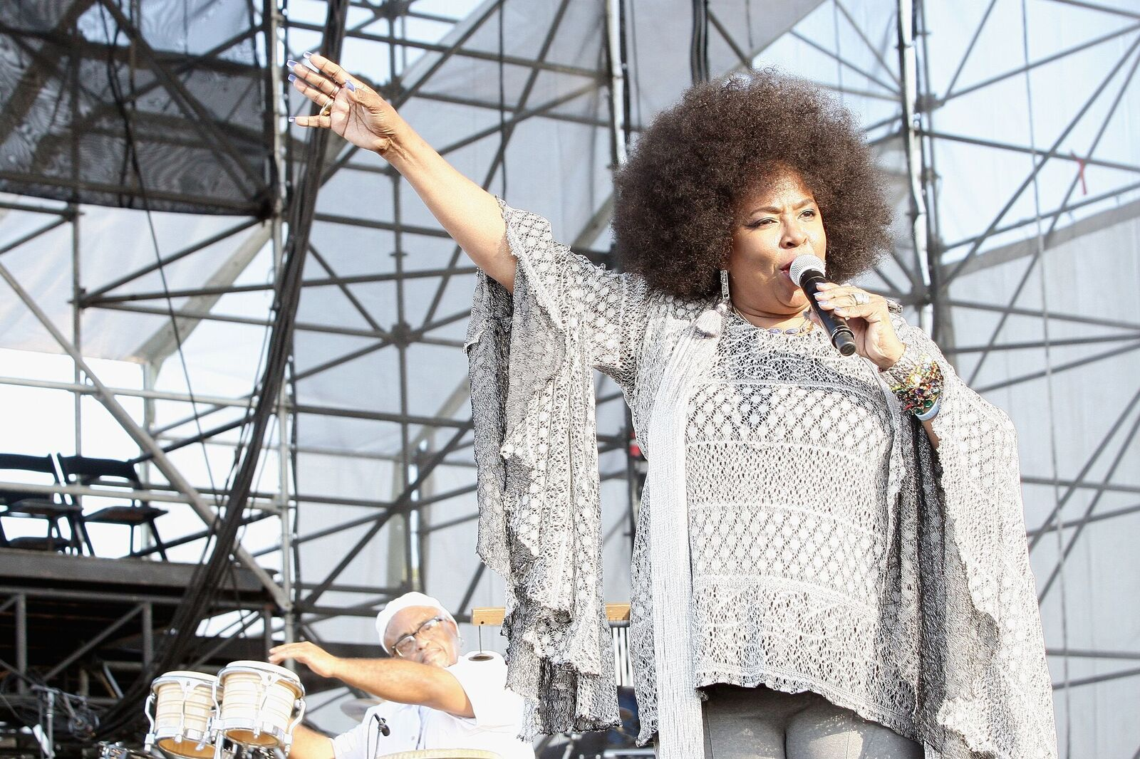 Betty Wright performs on stage In The Gardens Music Festival on March 18, 2017 | Photo: Getty Images