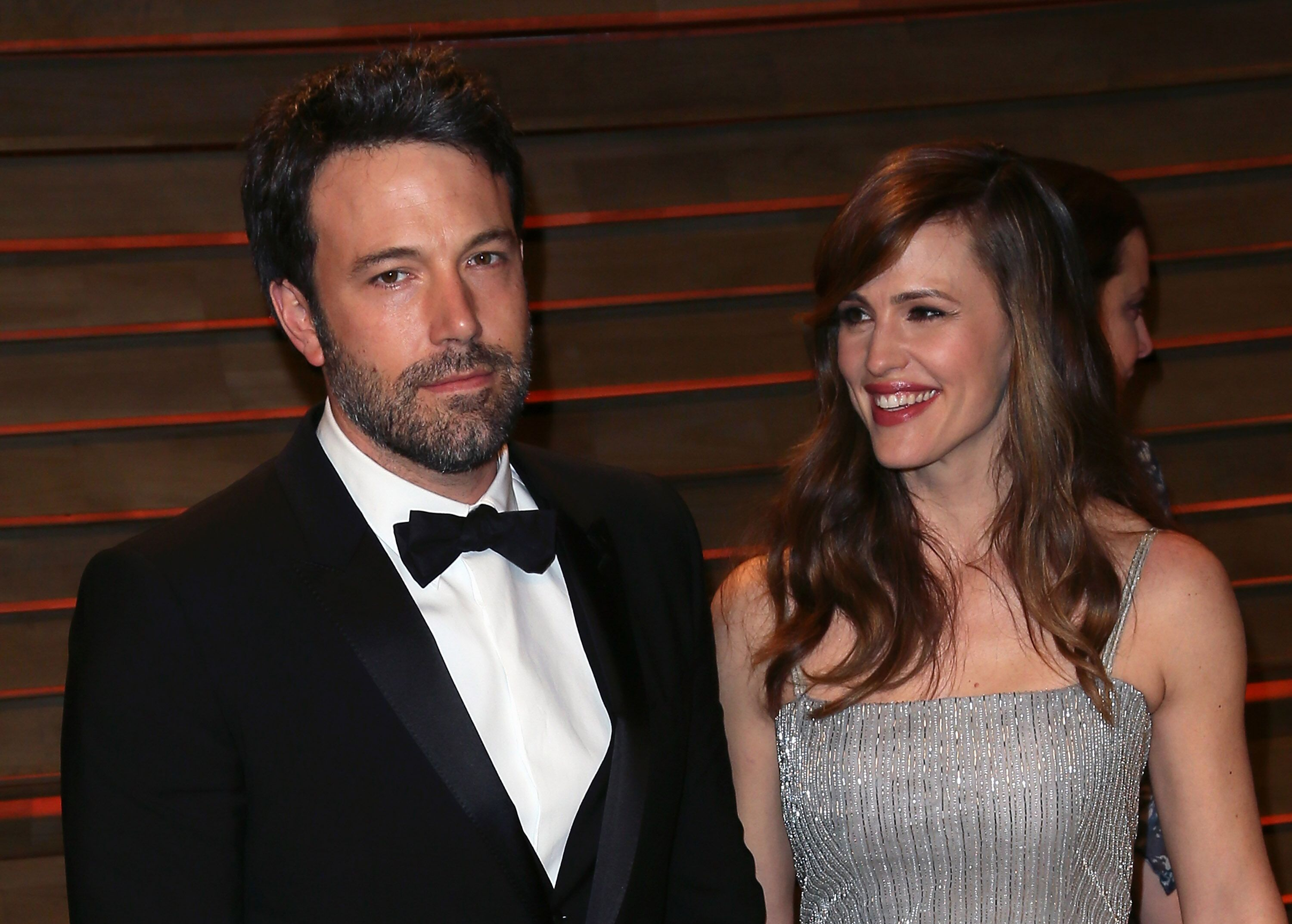 Ben Affleck et Jennifer Garner assister à la Vanity Fair Oscar Party 2014 organisée par Graydon Carter le 2 mars 2014 à West Hollywood, Californie. | Photo : Getty Images
