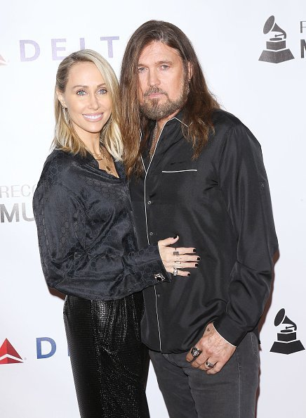 Tish Cyrus and Billy Ray Cyrus at the 2019 MusiCares Person of the Year in Los Angeles, California | Photo: Getty Images