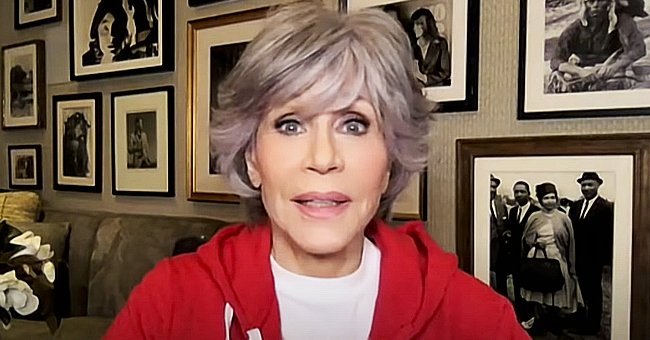 Jane Fonda, 83, Admits She Is Very Happy as She Flaunts Natural Gray Hair on 'The Ellen Show'