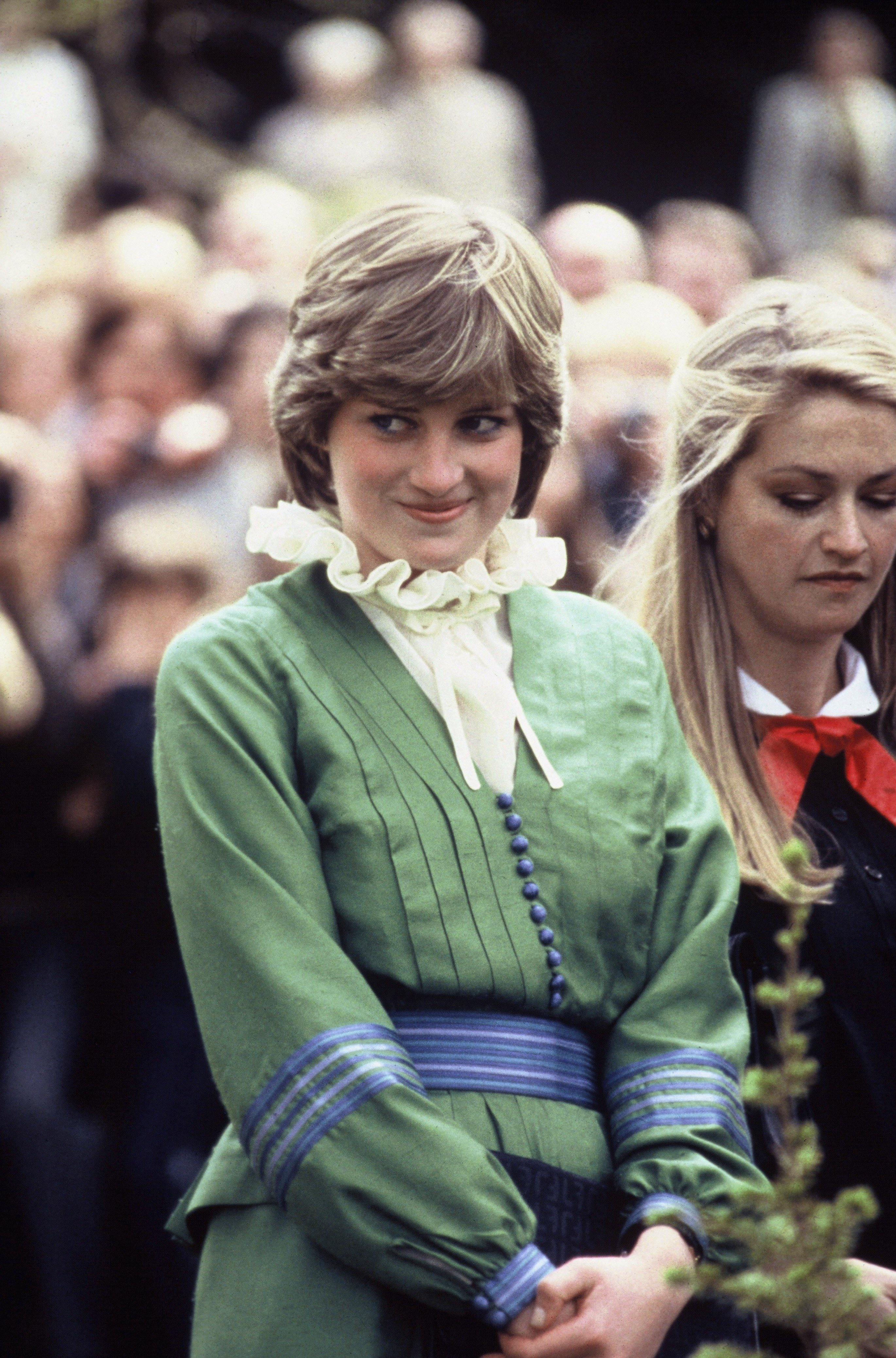Lady Diana Spencer on May 01, 1981 in Romsey, England | Photo: Getty Images