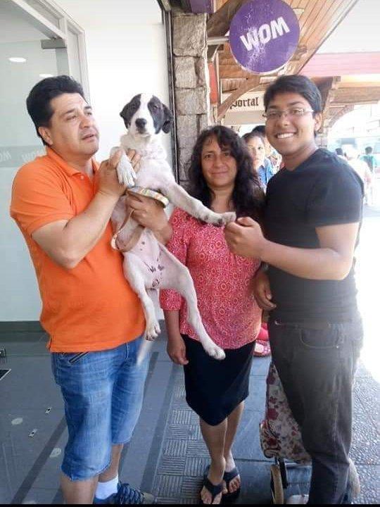 La famille qui a abandonné Reynita. Source : Twitter/erwin_eladio