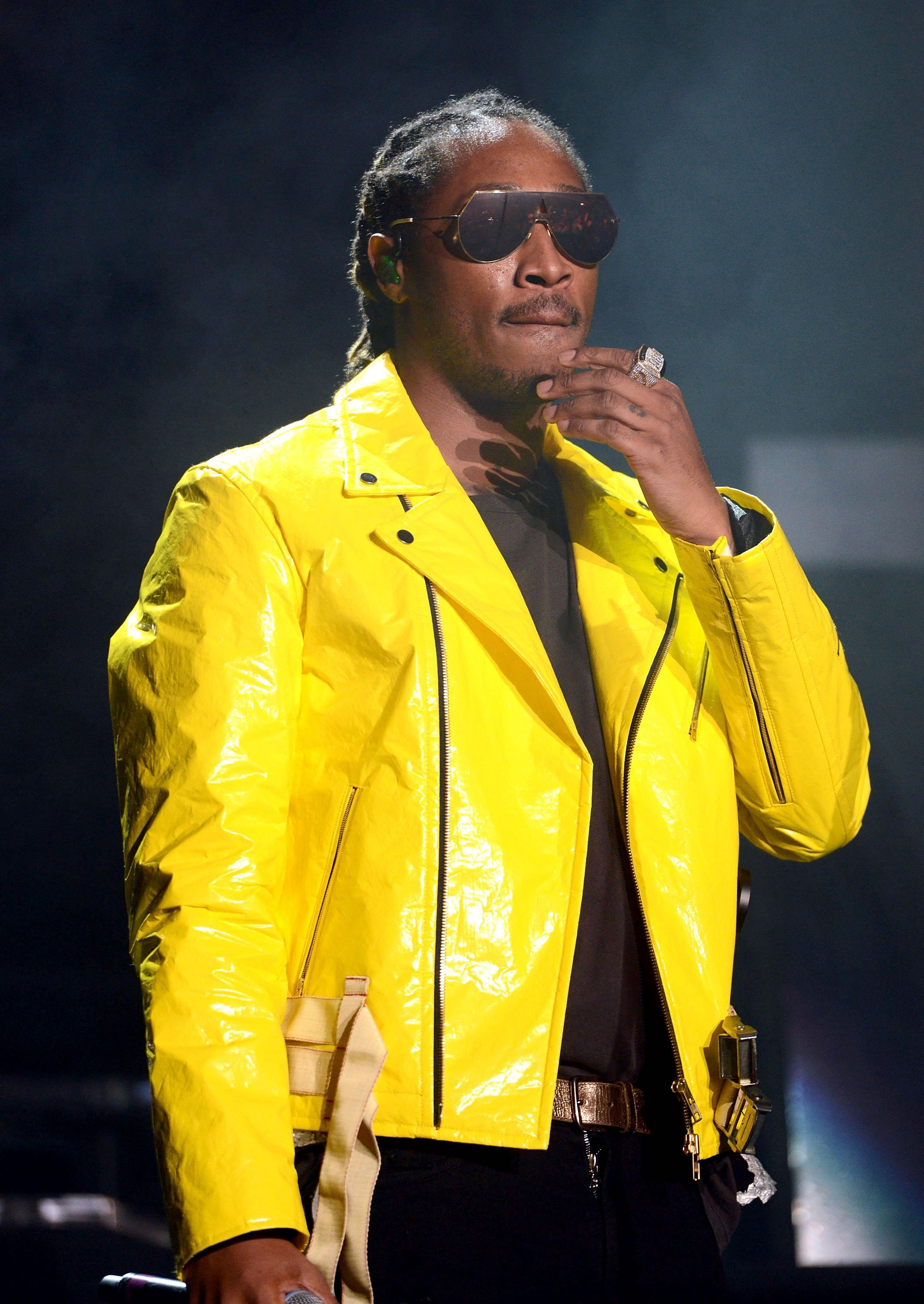 "Rapper Future onstage during the ""Nobody Safe"" tour in California on June 14, 2017 