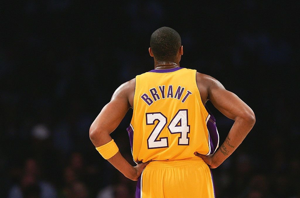 Kobe Bryant looks on during a match  against the Houston Rockets at Staples Center on March 30, 2007 in Los Angeles, California.   Source: Getty Images