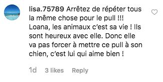 Un internaute soutien Loana après son coup de gueule sur Instagram. | Instagram/loana_karesdanje
