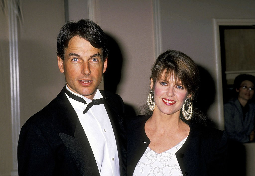 Pam Dawber and Mark Harmon at the American Film Institute Honors Gregory Peck on March 09, 1989 | Source: Getty Images