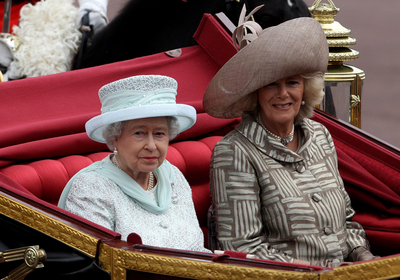 Queen Elizabeth & Camilla Parker Bowles. Image Credit: Getty Images