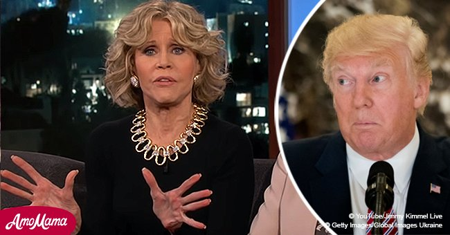 Jane Fonda puzzles Jimmy Kimmel as she advocates for 'wall' – until she clarifies her position