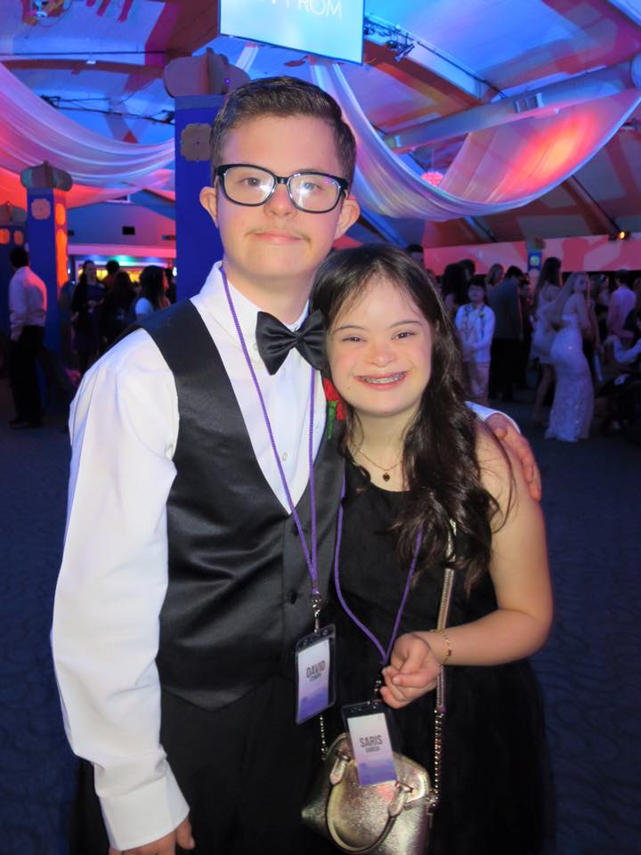 Cowen and Garcia at prom back in 2016   Facebook/wanda3cruz