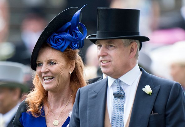 Sarah Ferguson, Duchess of York and Prince Andrew, Duke of York on day 4 of Royal Ascot | Photo: Getty Images
