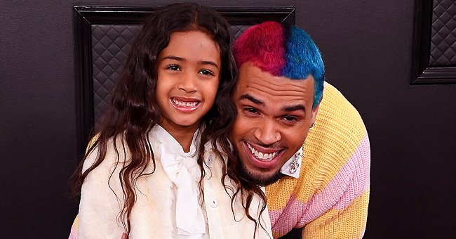 Watch Chris Brown and His Daughter Royalty Enjoying a Game of Basketball
