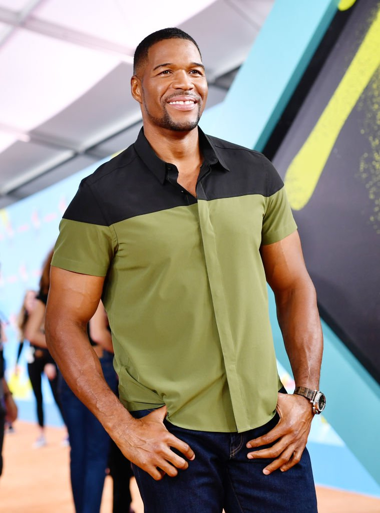 Michael Strahan attends Nickelodeon Kids' Choice Sports 2019 at Barker Hangar. | Photo: Getty Images