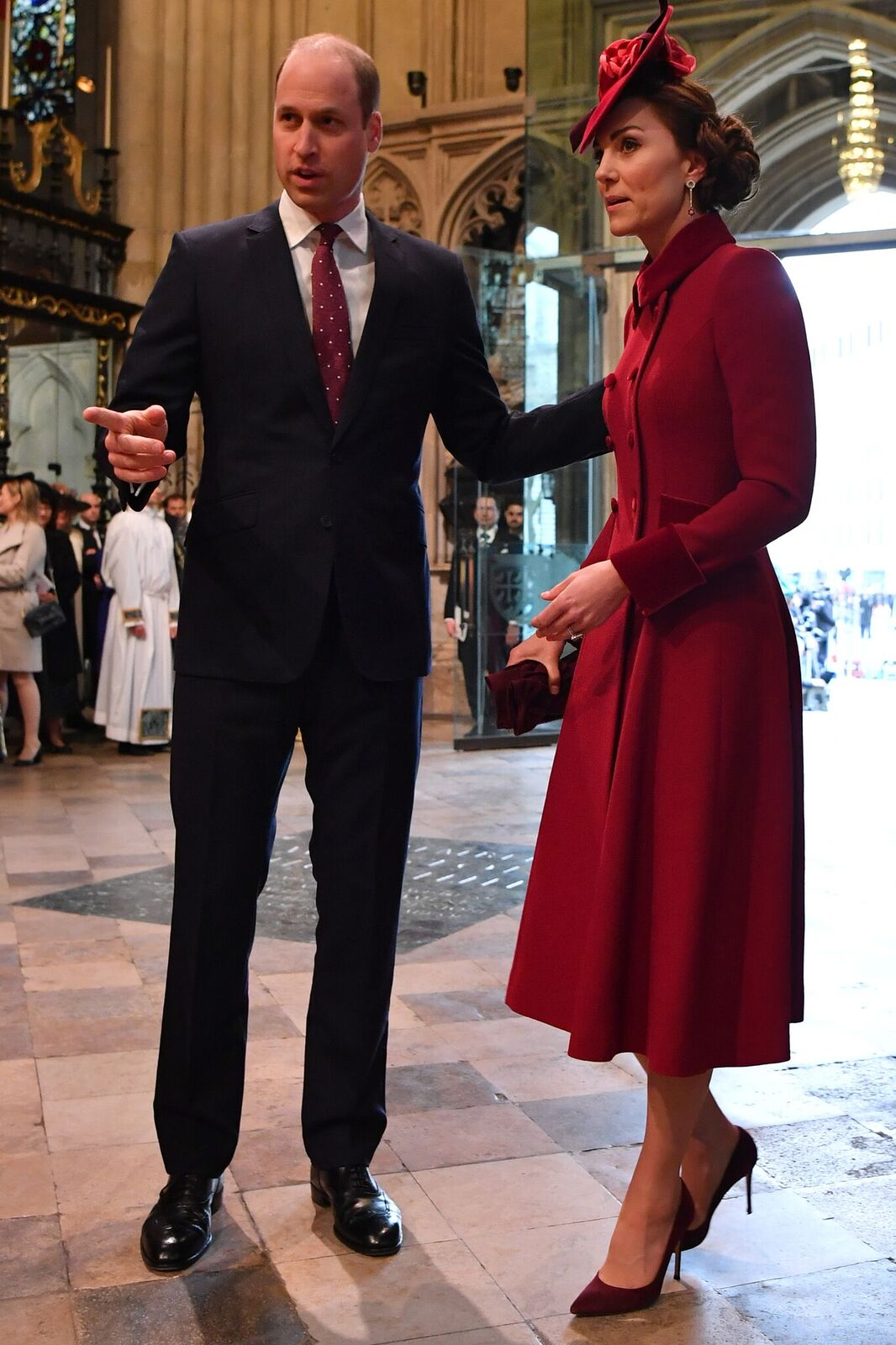 Prince William and Duchess Kate at the Commonwealth Day Service on March 9, 2020, in London, England | Photo: Ben Stansall-WPA Pool/Getty Images