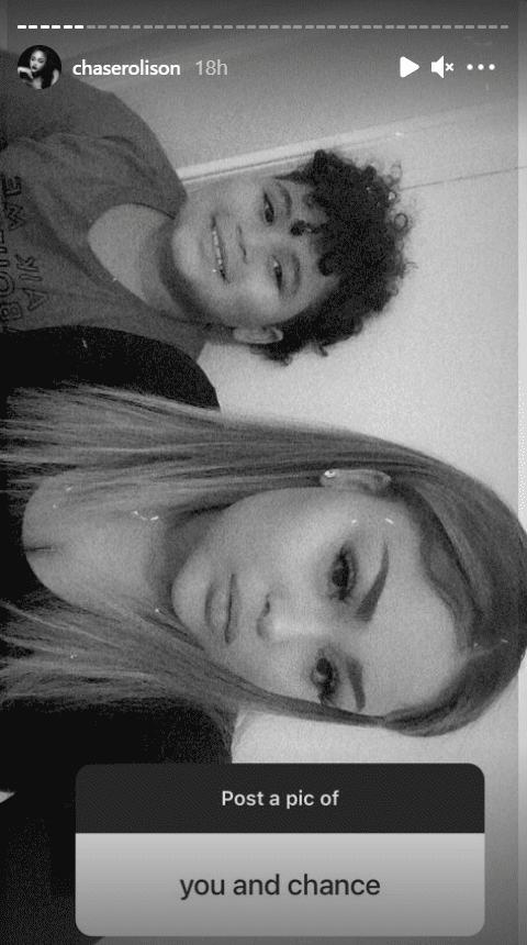 A rare picture of T-Boz's son Chance with his sister, Chase Anela on T-Boz's Instagram Story | Photo: Instagram/chaserolison