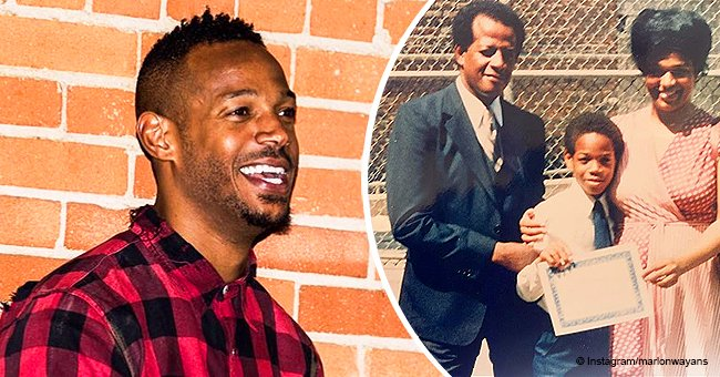 Marlon Wayans shares throwback photo of his young parents and a heartfelt tribute to them