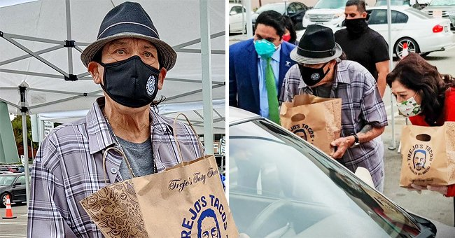 Danny Trejo Donates Food to Frontline Workers and Their Families for the Holidays