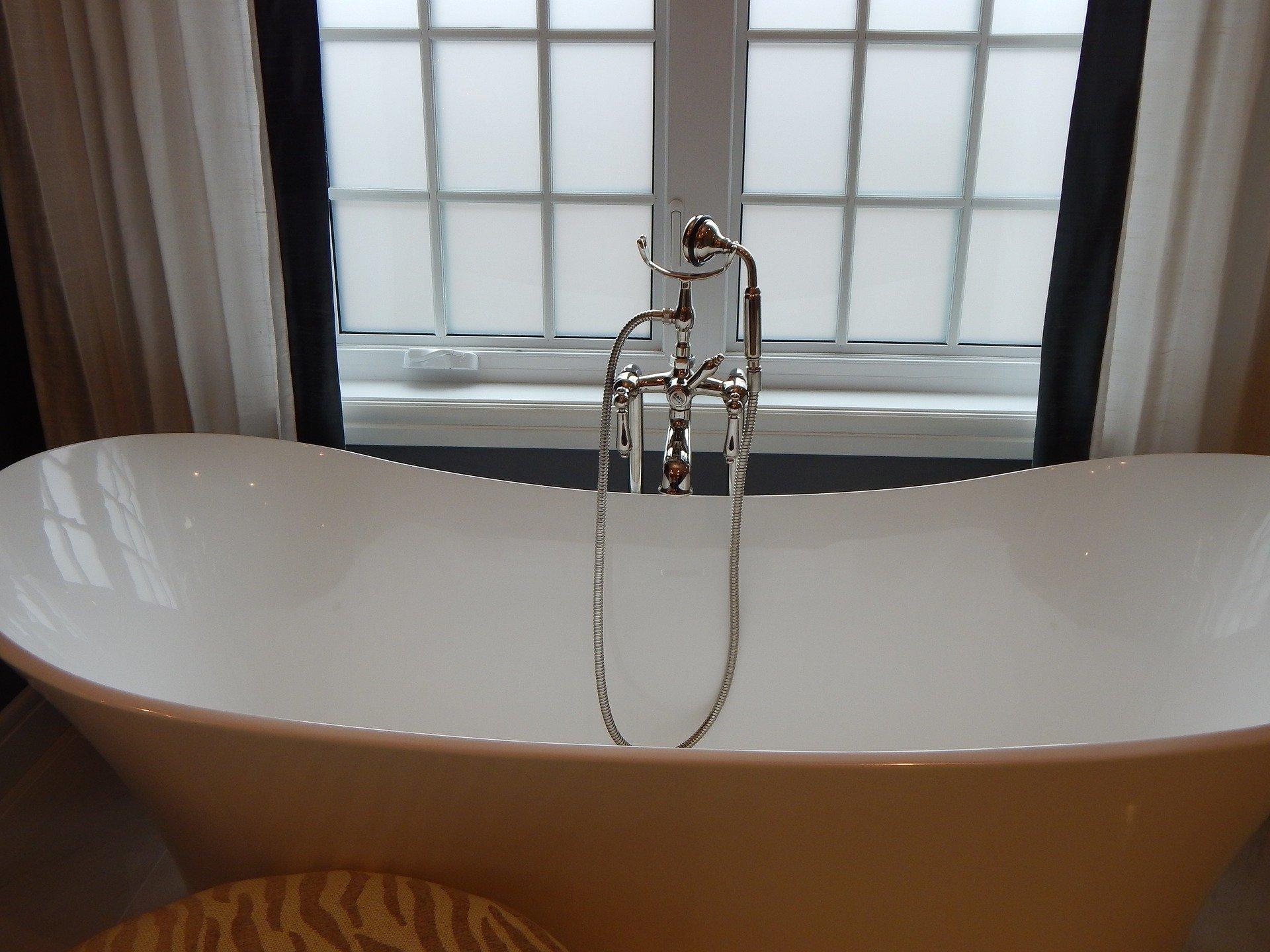 Bathtub. | Source: Erika Wittlieb/Pixabay