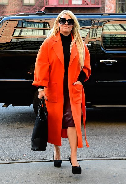 Actress Jessica Simpson arrives at a hotel in SoHo in New York City | Photo: Getty Images