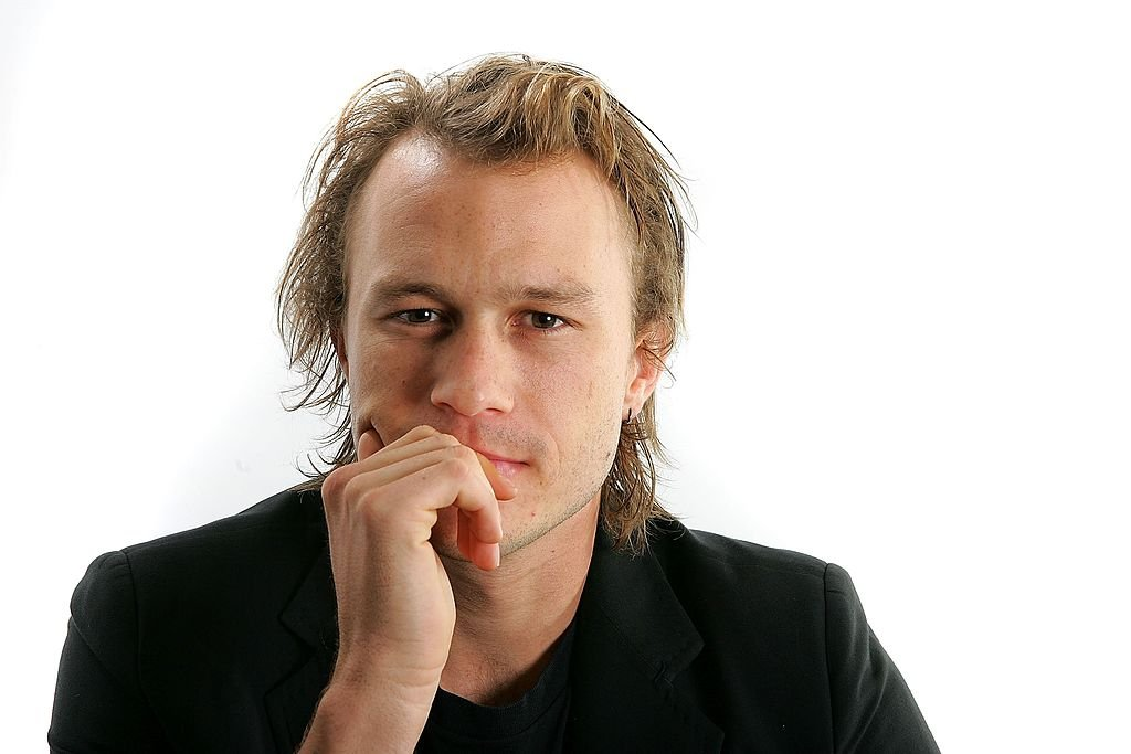"""Heath Ledger from the film """"Candy"""" poses for portraits in the Chanel Celebrity Suite at the Four Season hotel during the Toronto International Film Festival on September 8, 2006 