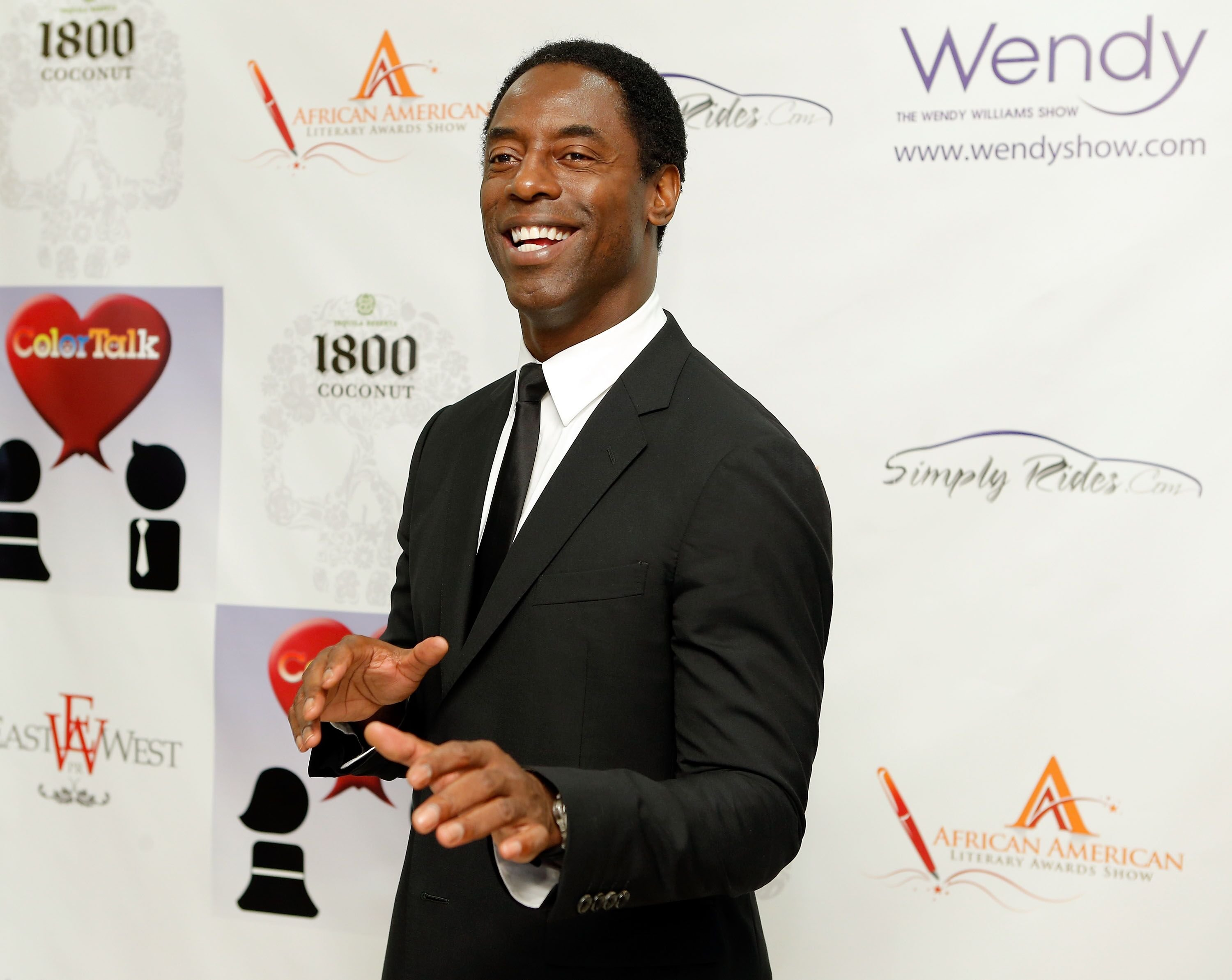 Actor/author Isaiah Washington attends the 8th Annual African American Literary Awards. | Source: Getty Images