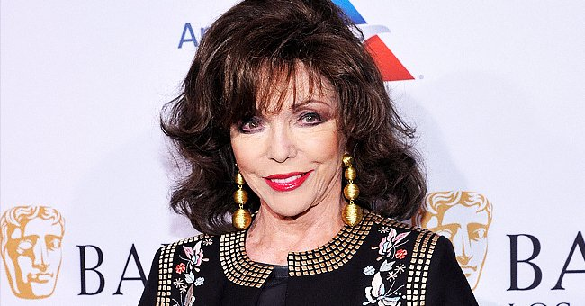Joan Collins, 87, Defies Age as She Shows off Her Showstopping Legs in a Glam All-Black Look