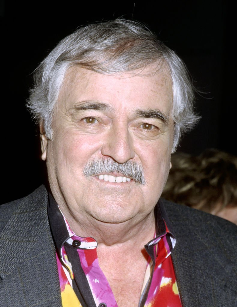 """James Doohan attends the opening of """"New York Skyride"""" in New York City in February 1995 