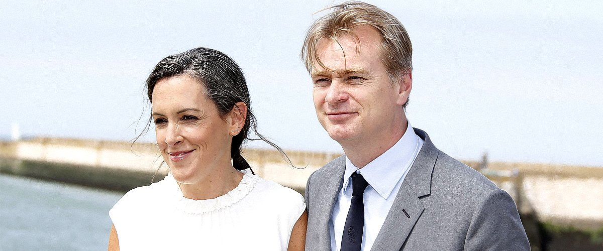"""Producer Emma Thomas and Director Christopher Nolan pose for """"Dunkirk"""" Photocall on July 16, 2017   Photo: Getty Images"""