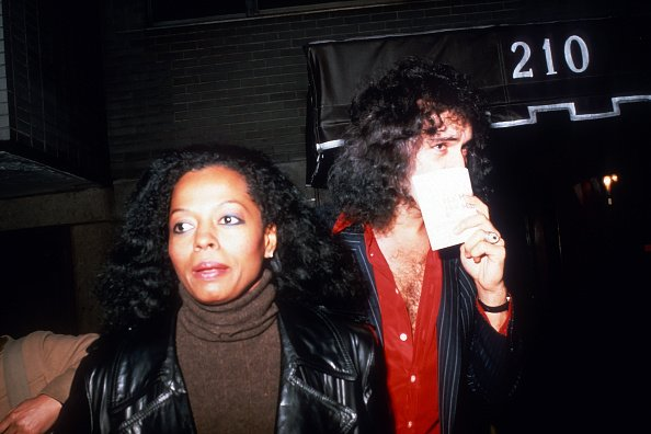 Diana Ross and Gene Simmons in New York City, New York in 1979. | Photo: Getty Images