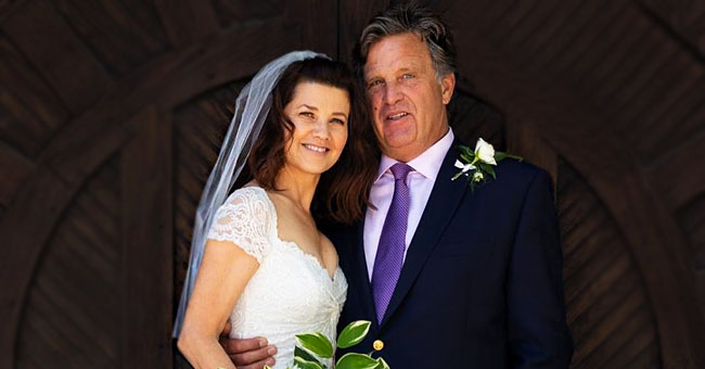 Daphne Zuniga of 'Melrose Place' Gets Married to David Mleczko in an Intimate Ceremony