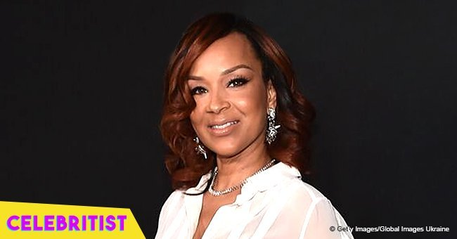 LisaRaye McCoy hangs out with her friends after calling off her engagement