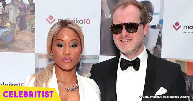 Eve's husband shares touching photo from their wedding ceremony