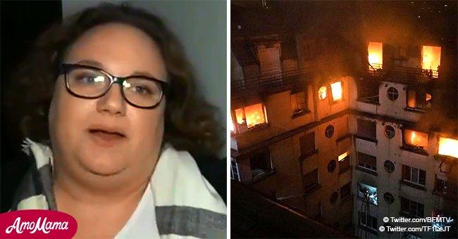 Les témoins de l'incendie mortel à Paris prennent la parole : 'J'ai vu des gens qui descendaient par le toit'