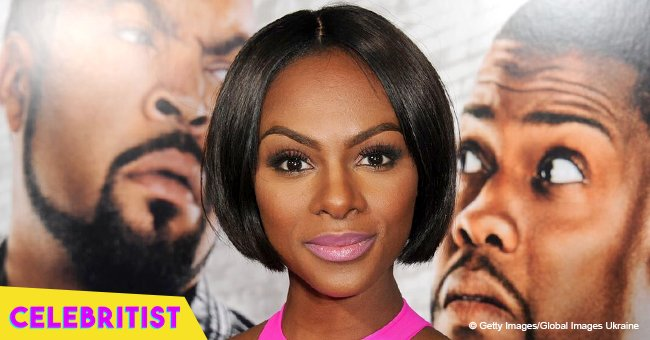 Tika Sumpter reveals her little daughter's face in throwback photo with fiancé