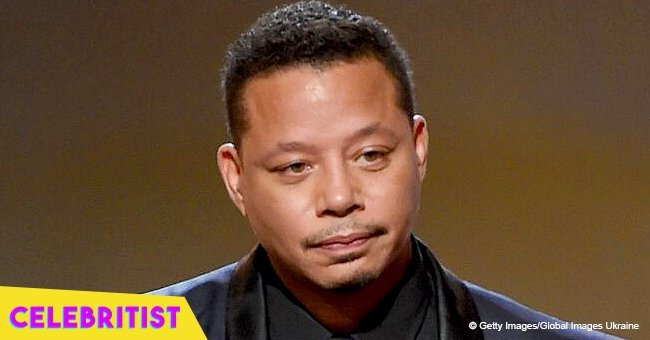 Terrence Howard brightens up the day with video of son & wife wearing luminous 'Darth Vader' mask
